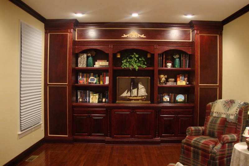 Custom Wall Units Steve Prugno Custom Woodworking Designs